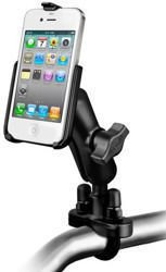 RAM Mount uchwyt montowany do ramy kierownicy do Apple iPhone 4 & Apple iPhone 4S