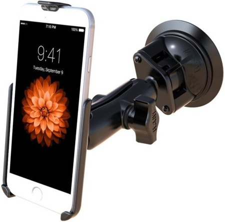 RAM Mount uchwyt do Apple iPhone 6 & Apple iPhone 7 montowany do szyby